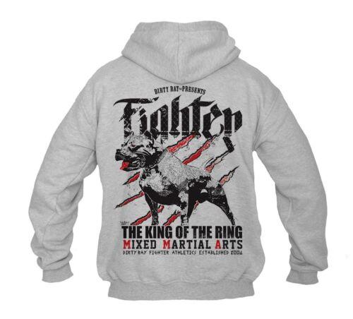 Dirty Ray Kampfsport MMA Herren Men/'s Sweatshirt Pullover