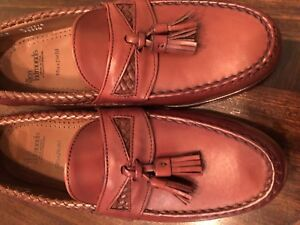 New-With-Box-Allen-Edmonds-Maxfield-Shoes-Size-9-Color-Chili