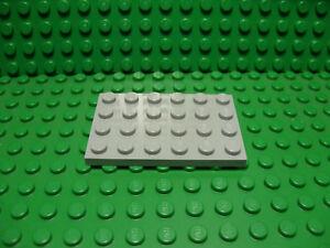 BLACK BASE PLATES *NEW* BULK LOT OF 25 PLATES FREE SHIPPING LEGO 4x6 DOT
