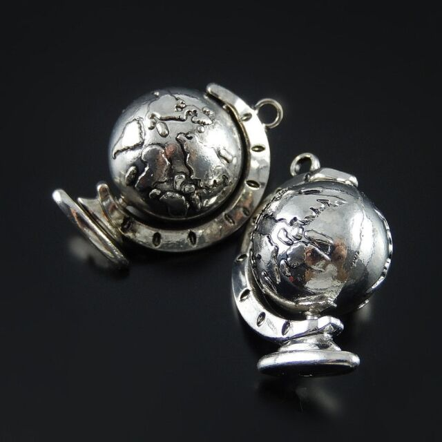 Lot Tibetan silver Vintage Alloy Umbrella Shaped Pendants Charms Crafts Findings