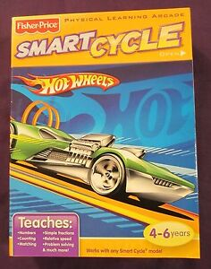 Brand-NEW-Factory-Sealed-Green-Hot-Wheels-Smart-Cycle-Game-Cartridge-amp-Booklet