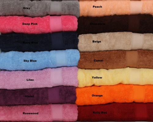 100/% Luxury Egyptian Cotton Towels face Guest main Bath 15 Colours