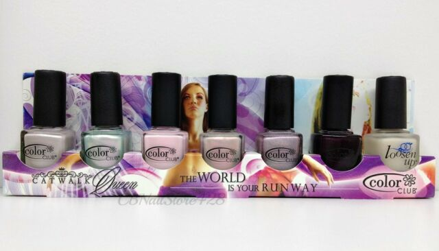 Color Club - 7pc Nail Polish Collections - Full size - Pick Your Collection