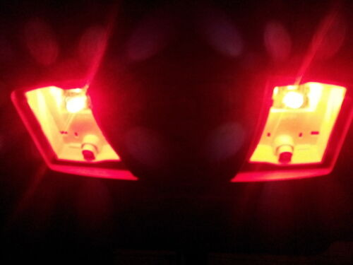 NEW 4 X Red LED T10 194 168 912 W5W T8 SMD Wedge Dome License Plate Light Bulbs