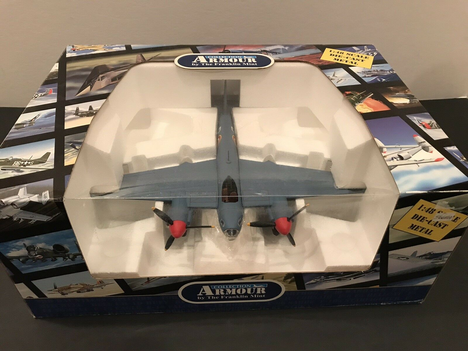 1 48 48 48 Franklin Mint DeHavilland DH98 Mosquito PR XVI French Air Force B11E075 9a851d