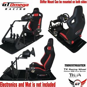 Details about GT Omega ART Simulator Cockpit RS6 for Thrustmaster TX Racing  Wheel F458 Xbox PC