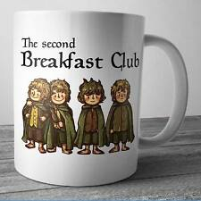 The Second Breakfast Club Coffee Mug Tea Cup Gift For The Lord Of The Ring Fan
