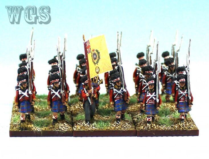 15 napoleonischen ag malte britischen highlander btln (24 zahlen) nba4-2