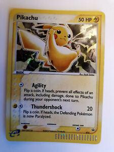 5 Lot of 2003 Pokemon 10th Anniversary Pikachu Holo Black Star Promo card 012