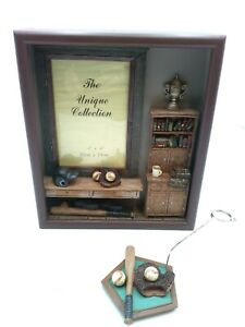 Baseball Themed Shadow Box Picture Frame for  4 x 6 Picture