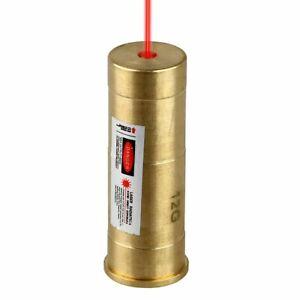12-Gauge-Rouge-Laser-la-vue-Cartouche-Rouge-Dot-Laser-Boresighter-FR