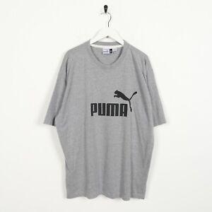 Vintage-90s-PUMA-Big-Spell-Out-Logo-T-Shirt-Tee-Grey-XL