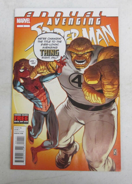 AVENGING SPIDER-MAN ANNUAL #1 DECEMBER 2012 BY MARVEL COMICS NEAR MINT (9.4)