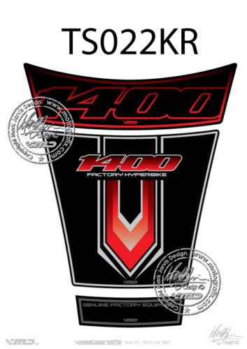 Suzuki GSX 1400 GSX1400 2001-2008 Motorcycle Tank Pad Motografix Gel Protector