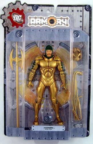 DC Armory Series 1 Aquaman AF MINT DC Direct