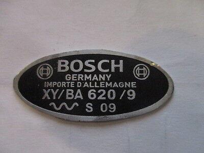 Typenschild Schild Oldtimer Gaubschat Karosserie Berlin Abzeichen s22