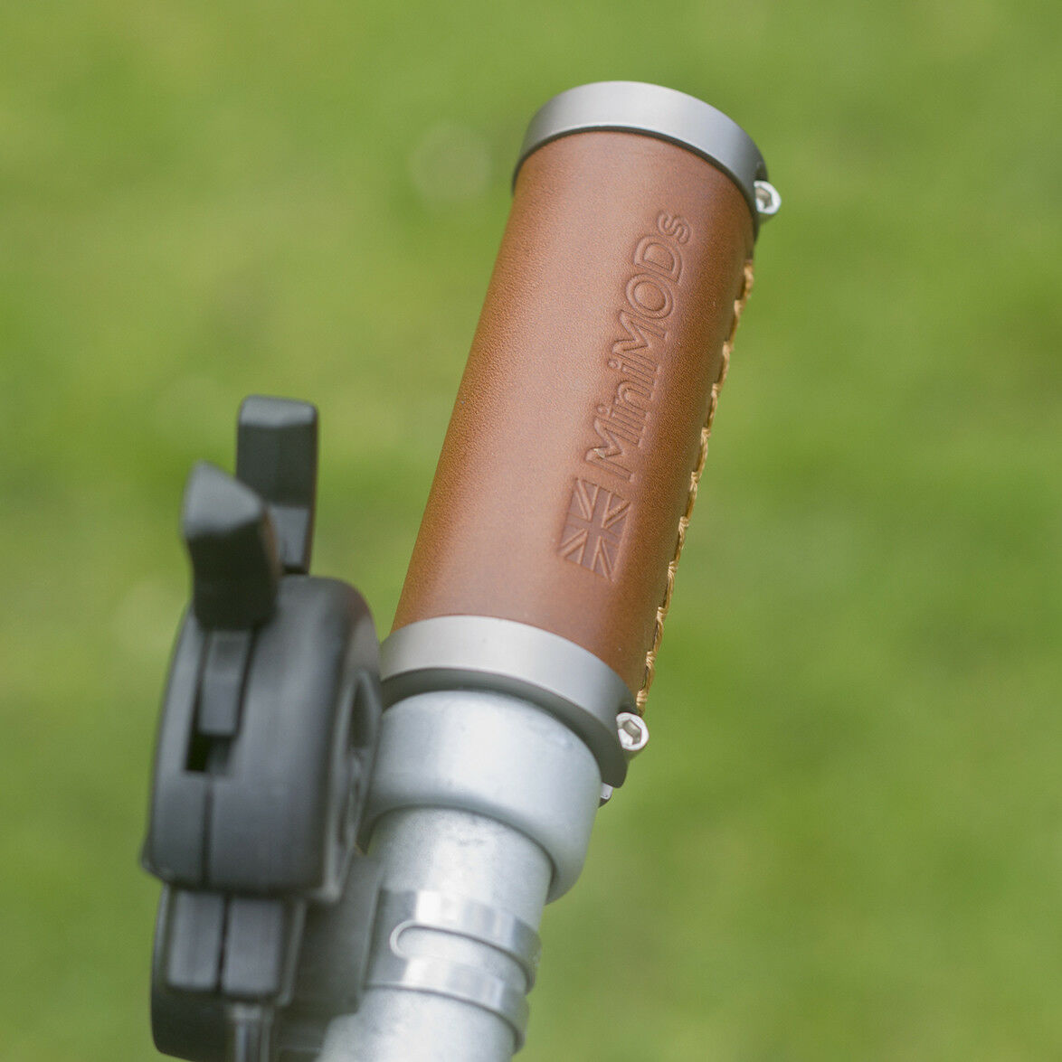 BROMPTON Leather Grips M H S type Handlebar  Short Straight Ergonomic  for cheap