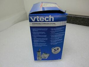 VTech i5881 5881 5.8 GHz DSS Expandable Cordless Speakerphone Answering System