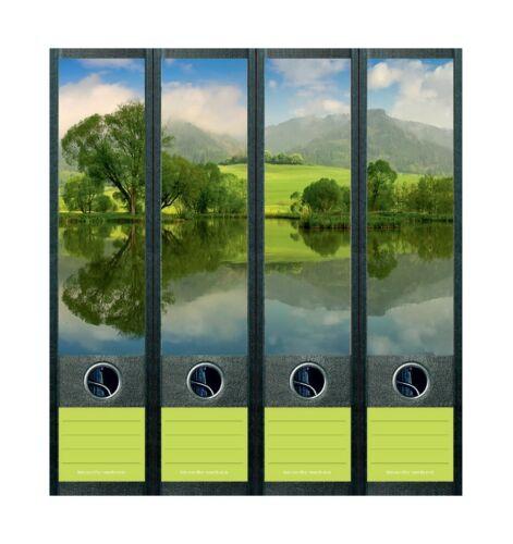 File Art 851 Rattenberger Teich im Sommer Design Etiketten Ordnerrückenschilder