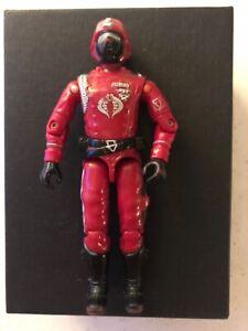 GI JOE COBRA Vintage Action Figure CRIMSON GAURD Hasbro 1985 ARAH