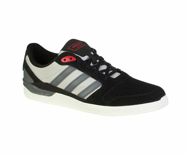 Adidas Mens ZX Vulc; Black Onix Col Red Skate Shoe; SIZE 9, 10.5, and 12 US