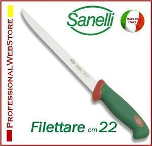 FILETTARE-cm-22-COLTELLO-SANELLI-PER-SFILETTARE-PESCE-COLTELLI-PROFESSIONALI