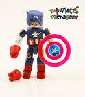 Marvel Minimates SDCC Exclusive Battle Damaged Captain America