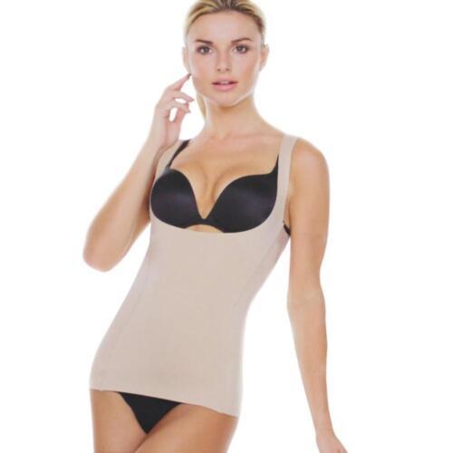New Stream Line Women/'s BodySuit Shapewear Open Bust Bra Cami Tank Top 561003T