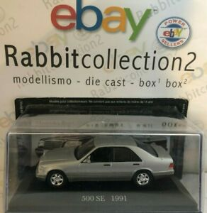 DIE-CAST-034-500-SE-1991-034-MERCEDES-COLLECTION-1-43-55