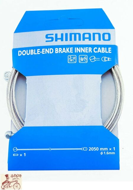 Shimano Brake Cable MTB Road Bike Stainless Steel Inner Wire 1.6 x 2050mm