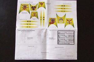 OOP-Citadel-Warhammer-Man-O-039-War-Chaos-Daemons-Nurgle-Fleet-Banners