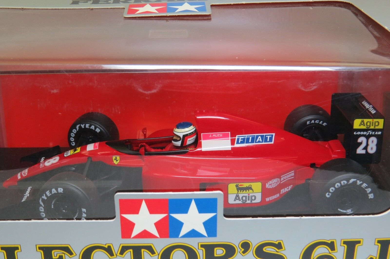 Ferrari 643 F1 1991 J. J. J. Alesi 1 20 Tamiya Collectors Club NEW in Box    Rare   b3c8a0