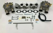 Toyota 20r Dual Weber 45 Dcoe Conversion Kit Manifoldlinkage Genuine Weber