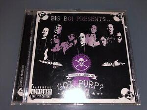 CD-BIG-BOI-Got-Purp-Vol-2-2005-Virgin-Records-Killer-Mike-C-Bone-G-Funk