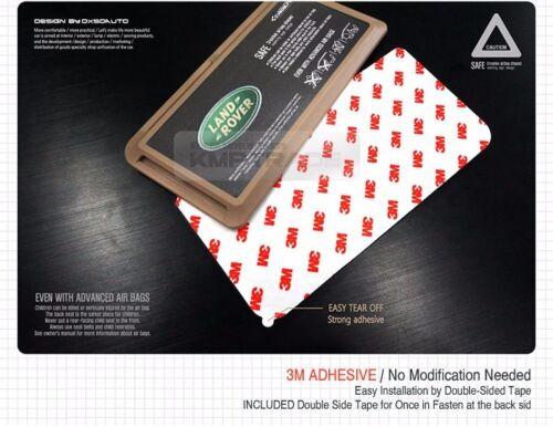 Interior Sun Shade Visor Slot Card Pocket Pouch Holder Case for LAND ROVER Car