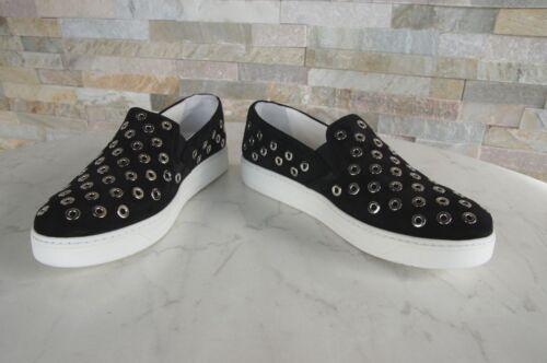 3s6159 Slipper Uvp Shoes Newly € Sneakers On 37 Pelle Prada 530 Form scamosciata Black Slip x8TqBWCw