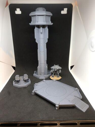 Adeptus Titanicus Airport Terrain 3D Printed