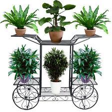 Item 1 Metal Outdoor Indoor Pot Plant Stand Garden Decor Flower Rack Wrought Iron Us