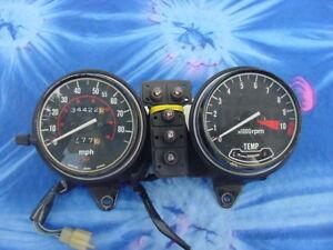 Honda-CX500C-500D-OEM-speedometer-tachometer-gauge-meter-instrument-cluster