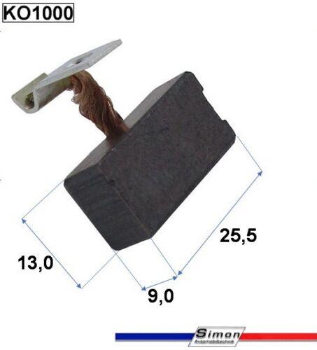 12 Bosch Anlasser Kohlenbürsten Kohlen passend für EJD 1,8