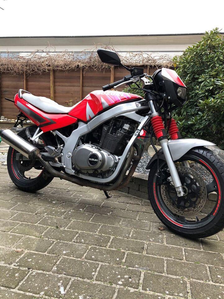 Suzuki, GS 500, 500 ccm