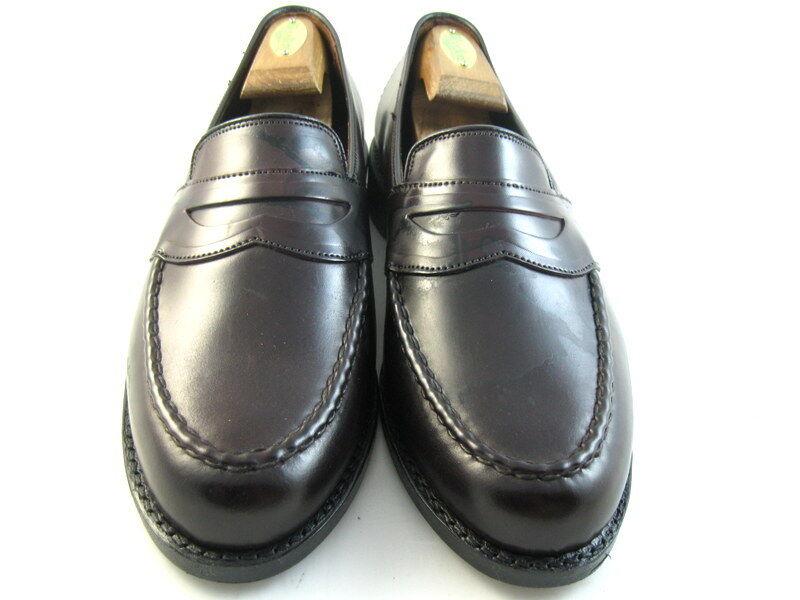 migliori prezzi e stili più freschi New Allen Edmonds  Randolph  Shell Cordovan Loafers 9 9 9 D Burgundy (721)  consegna rapida