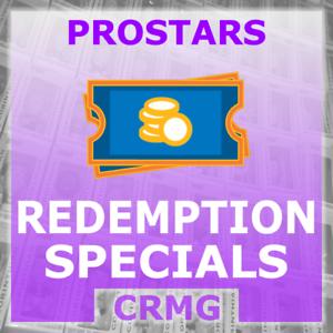 CRMG-Corinthian-ProStars-REDEMPTION-SPECIALS-choose-from-list