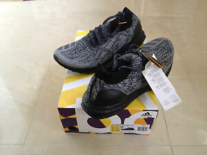 timeless design dfc6c 33f7c Image is loading ADIDAS-ULTRABOOST-ULTRA-BOOST-UNCAGED-TRIPLE-BLACK-SIZES-