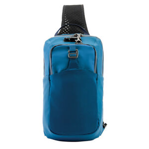 Pacsafe-Venturesafe-X-6L-Anti-Theft-Cross-Body-Sling-for-Left-or-Right-BLUE