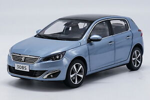 1-18-Scale-Peugeot-308S-2015-Blue-Diecast-Car-Model-Toy-Collection