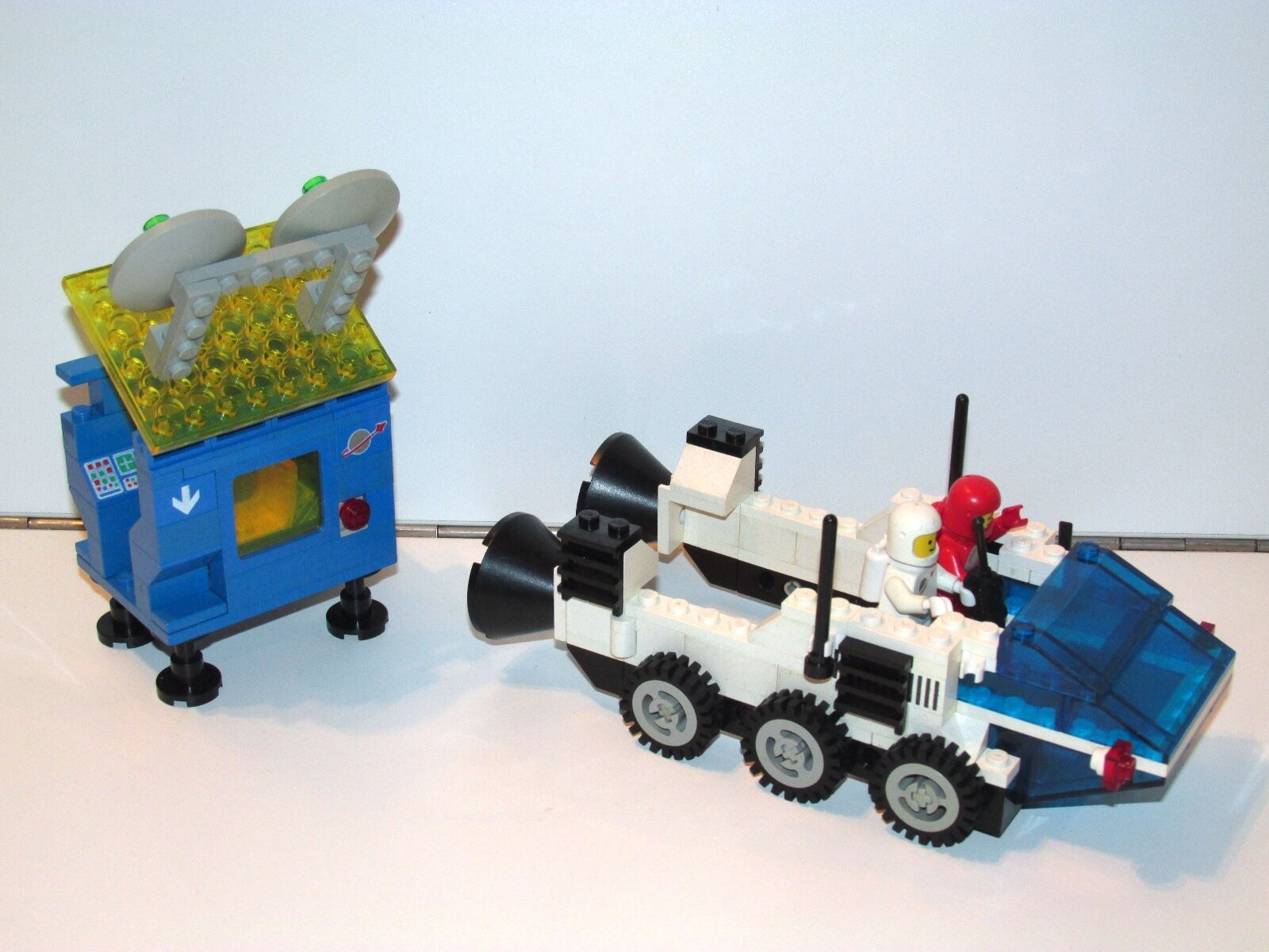 LEGO SPACE No 6927 ALL-TERRAIN VEHICLE VEHICLE VEHICLE 100% COMPLETE 1980s (NO INSTRUCTIONS) 129bb5