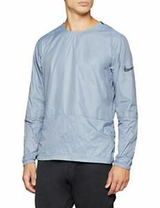Nike-Herren-Run-Division-Crew-Laufjacke-Light-British-Tan-928497-445-Neu-Gr-L