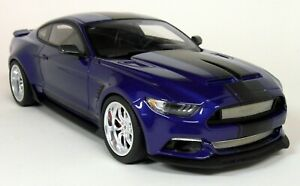 GT-Spirit-1-18-Scale-Ford-Shelby-Mustang-GT-350-Wide-body-Blue-Resin-Model-Car