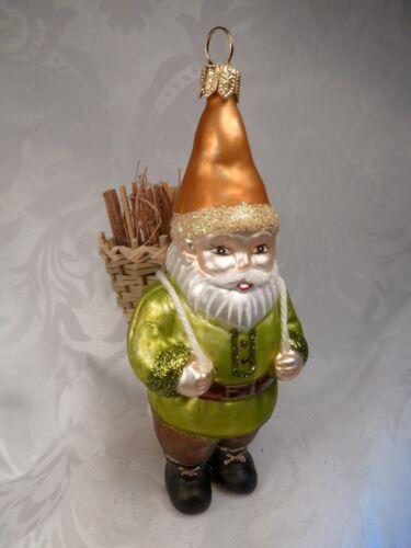 """Kiepe /""""verre /""""nain M décorations de Noël sapin cadeau handbem."""